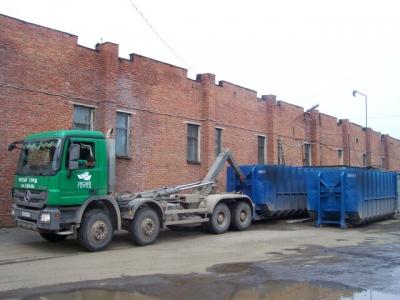 Установка пресс контейнера на СМП