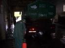 Подготовка к санитарной обработке контейнера К-6